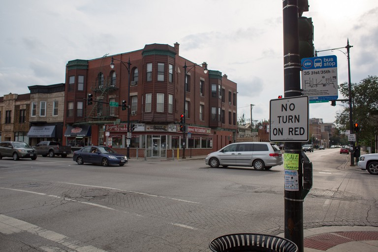 Halsted and 35th Street | ©Victor Grigas/WikiCommons