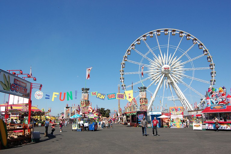 Los Angeles County Fair, Fairplex, Pomona   © Omar Bárcena/WikiCommons