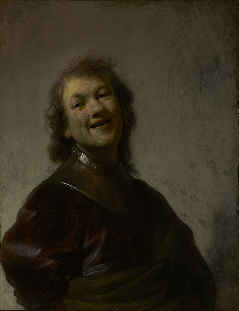 Rembrandt, Rembrandt Laughing, c. 1628 | © Rembrandt/WikiCommons
