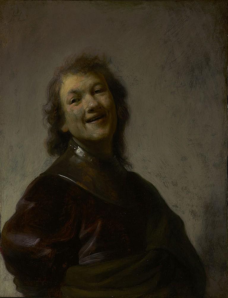 Rembrandt, Rembrandt Laughing, c. 1628