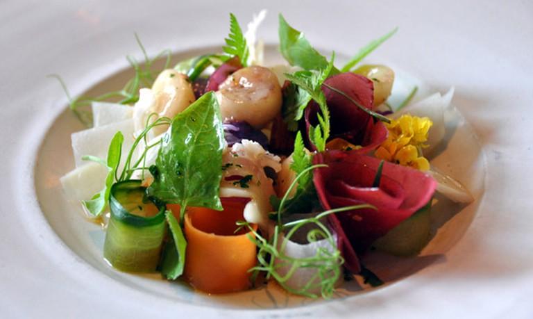 Restaurant Noma: Marv med syltede grøntsager | © cyclonebill, via Flickr