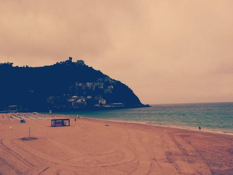 La Playa de la Concha, the icon of the city.