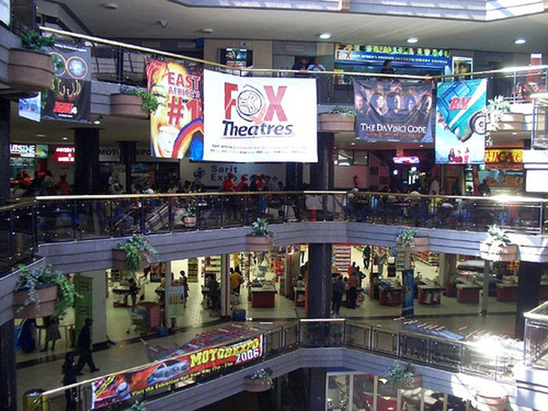 In a Kenyan shopping mall   © Tbite/WikiCommons