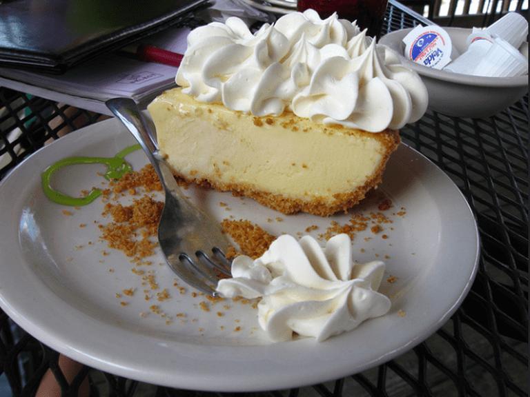 Key Lime Pie à Everglades City|©Guillaume Capron