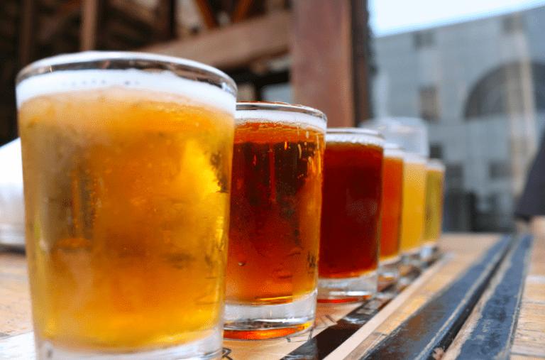 Beer Sampler|©Quinn Dombrowski