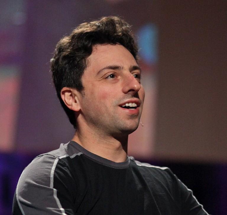 Sergey Brin in 2010