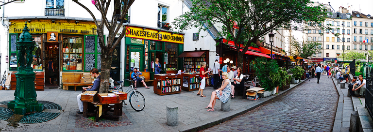 Shakespeare And Co. | © Luis Irisarri/Flickr