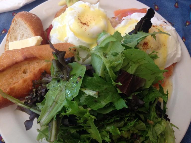 Smoked Salmon Eggs Benedict | Nicole Egan
