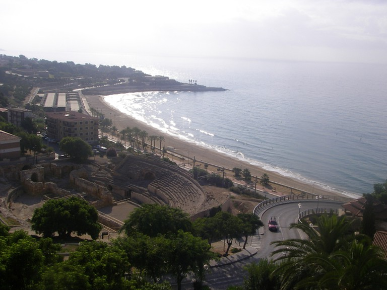 Great views of the coast and the Amphitheatre