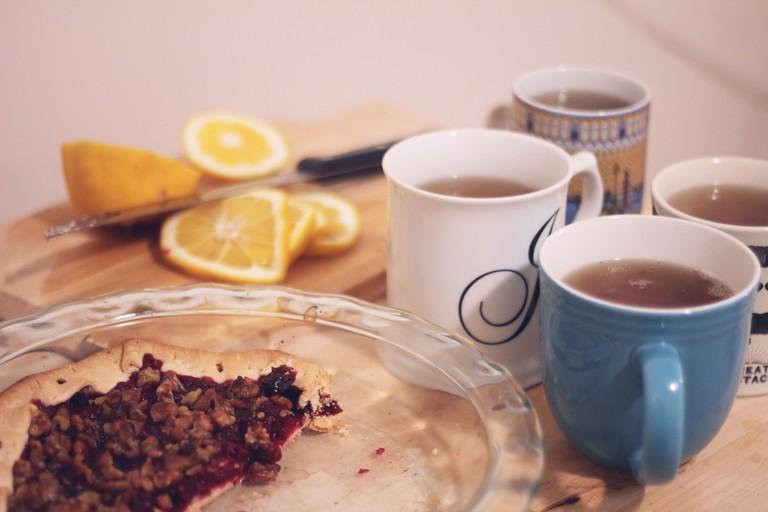 Tea and pies   © Jane Rahman/Flickr