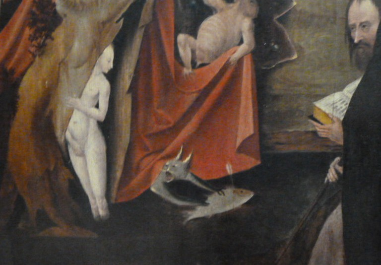 Temptation of St Anthony Right Panel, Hieronymous Bosch
