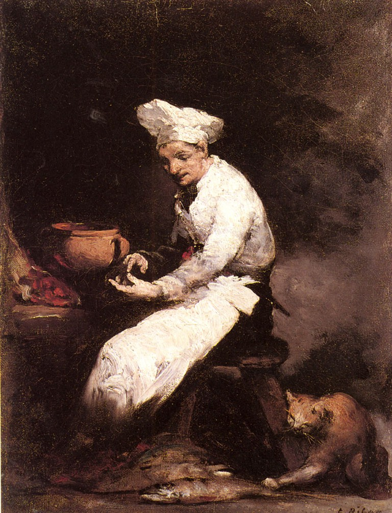The Cook and the Cat, Théodule-Augustin Ribot