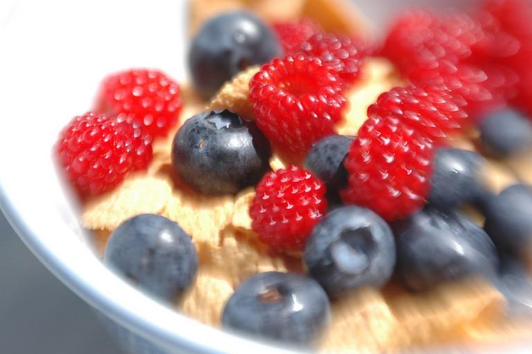 Fruit Salad with Granola   ©Adam Friedin/Flickr