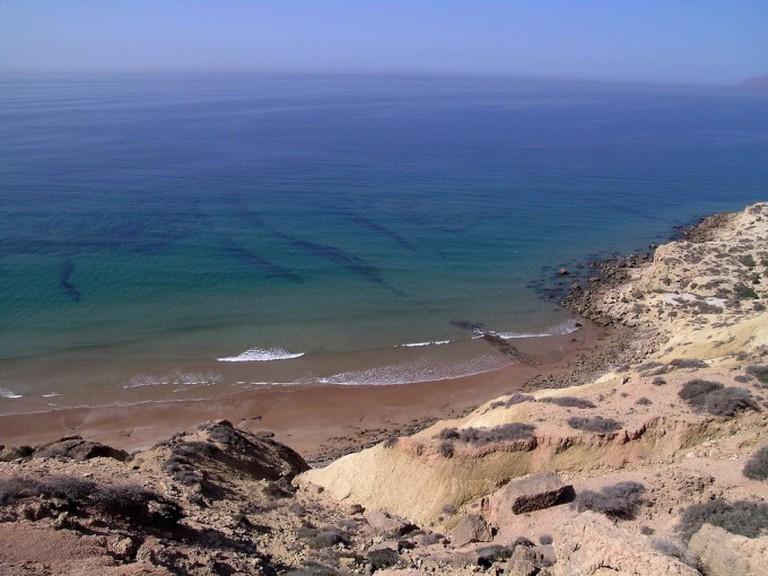 Crique au nord d'Agadir