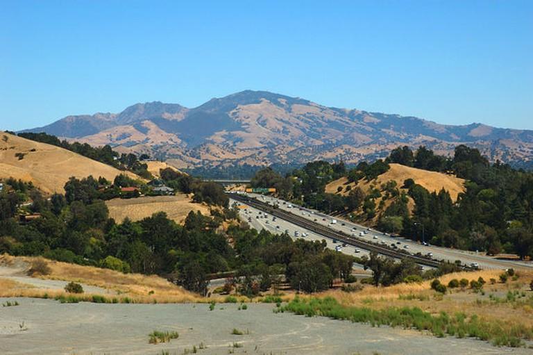 The foothills of Mt. Diablo