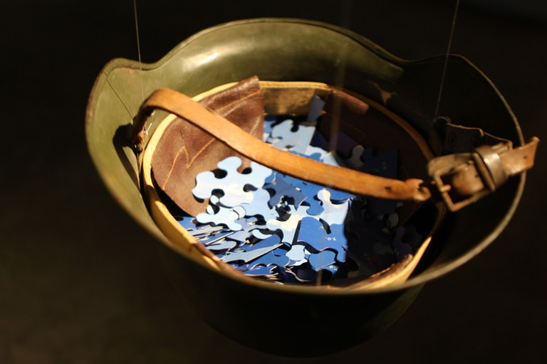 Pieces of Sky by  Yoko Ono exhibited in the War Is Over! Exhibition, Sydney Museum of Contemporary Art, Australia