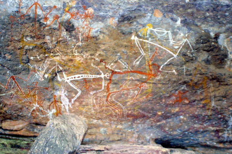 Aboriginal rock painting in Australia | © ejakob/Pixabay
