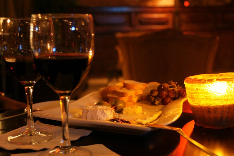 Cheeses and wine | © Marcus Södervall/Flickr