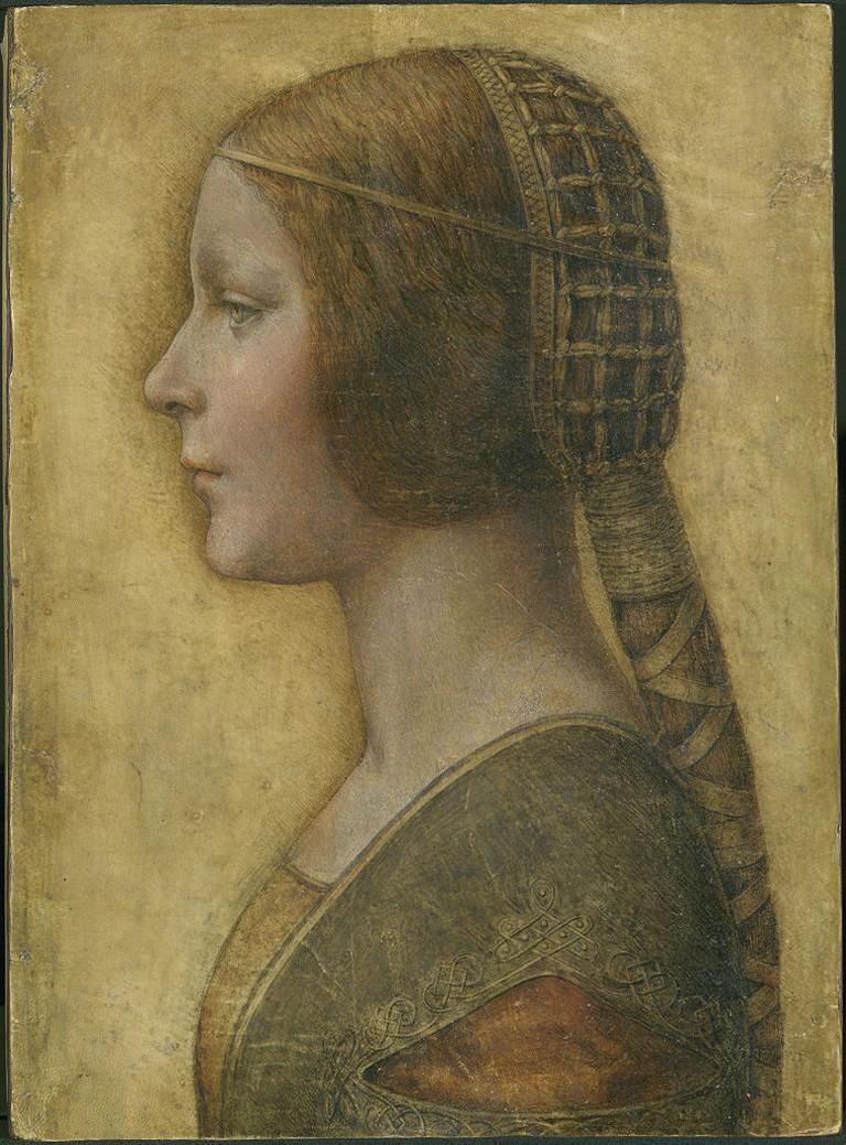 Leonardo da Vinci, La Bella Principessa, 1490s | © Leonardo da Vinci/WikiCommons