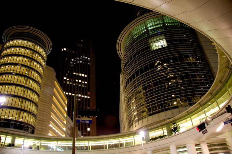 Enron Complex in Downtown Houston