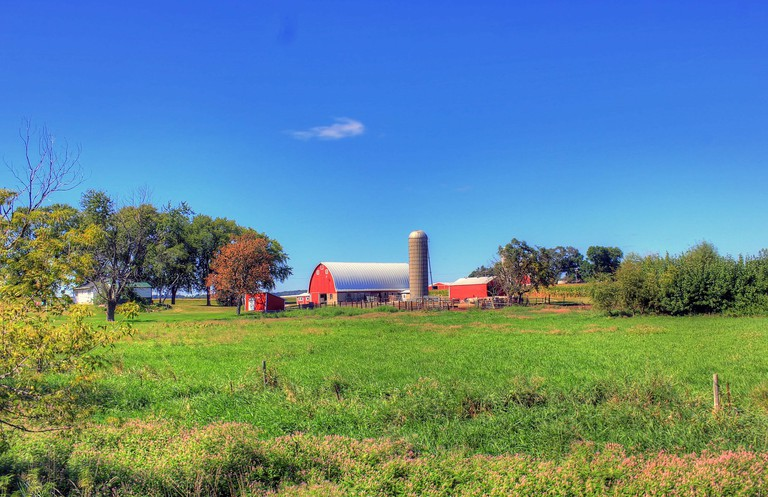 A Wisconsin farmstead | © Archbob/Pixabay