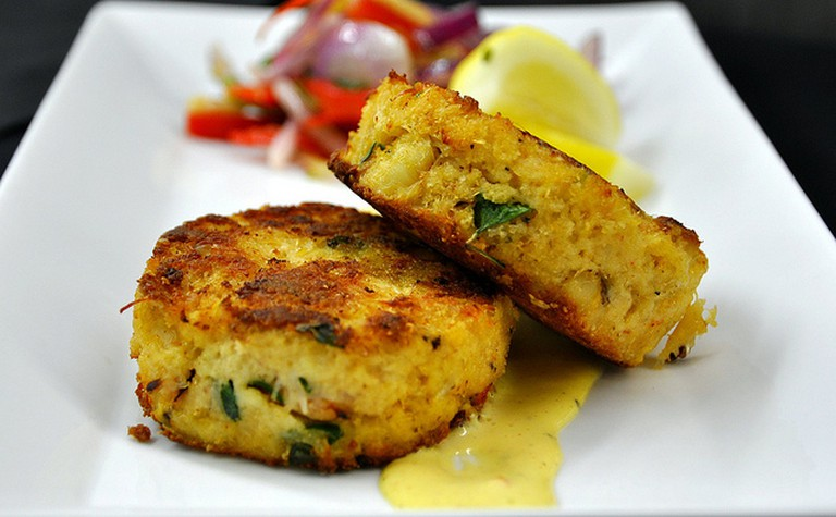 Crabcake | © Richard Fraley/Flickr