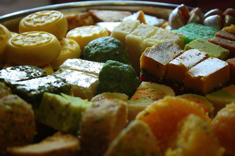 Indian Sweets| © robertsharp/Wiki Commons