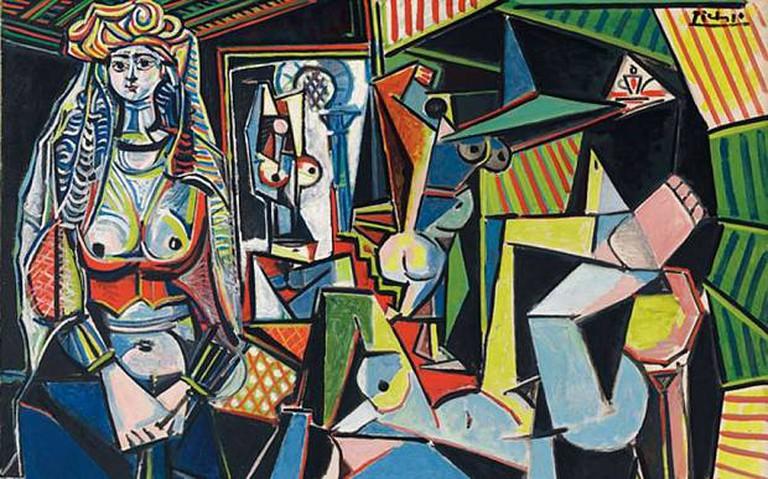 Pablo Picasso, Les Femmes d'Alger, 1954-55.