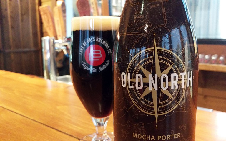 Old North Mocha Porter | Courtesy of Lake of Bays Brewing Company