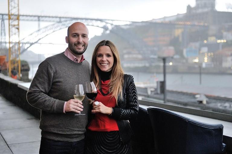 Filipa Garcia Fernandes and Moisés Cardoso Campos, Owners Of Wine Quay Bar | Courtesy Wine Quay Bar