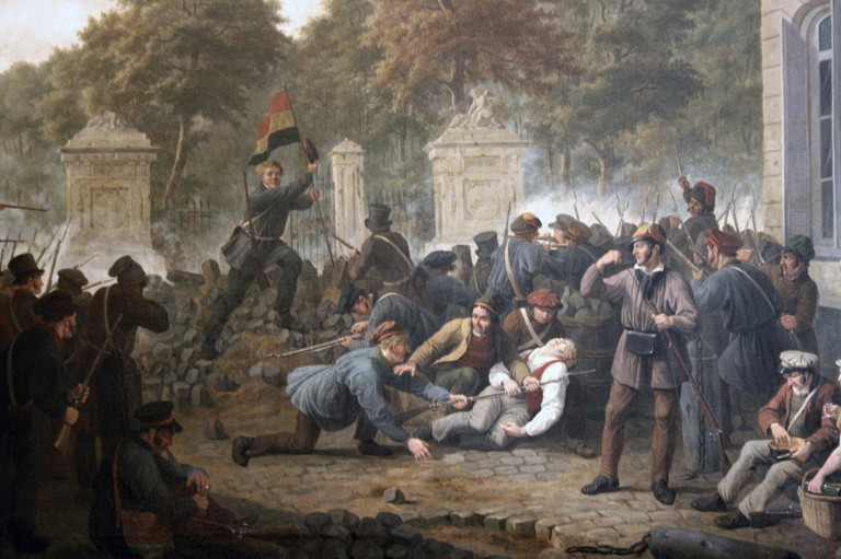 Belgian Revolution| ©GustafWappers/Wiki Commons