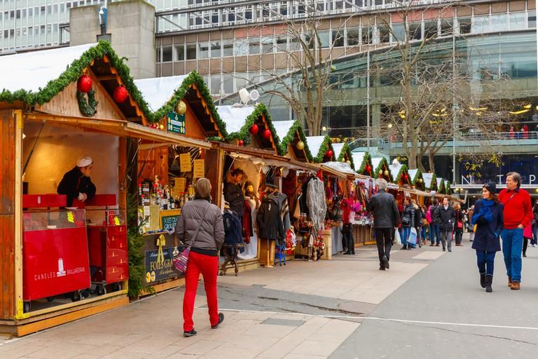 Marché de Noël, Montparnasse