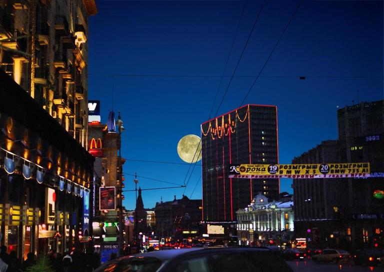 A glimpse down Tverkskaya Street | © Sergey Tchernyakov/Flickr