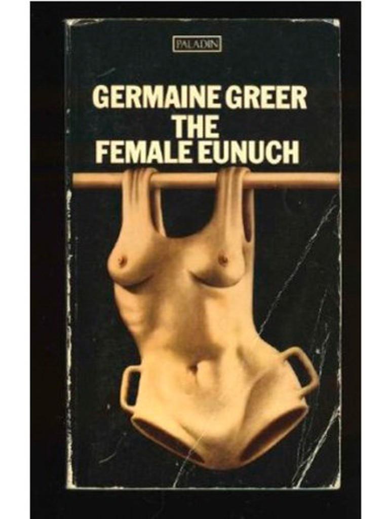 Iconic Cover for Greer's The Female Eunuch