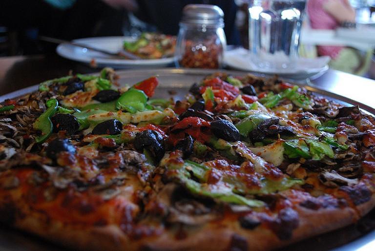 Vegetarian Pizza | © Alpha/Flickr