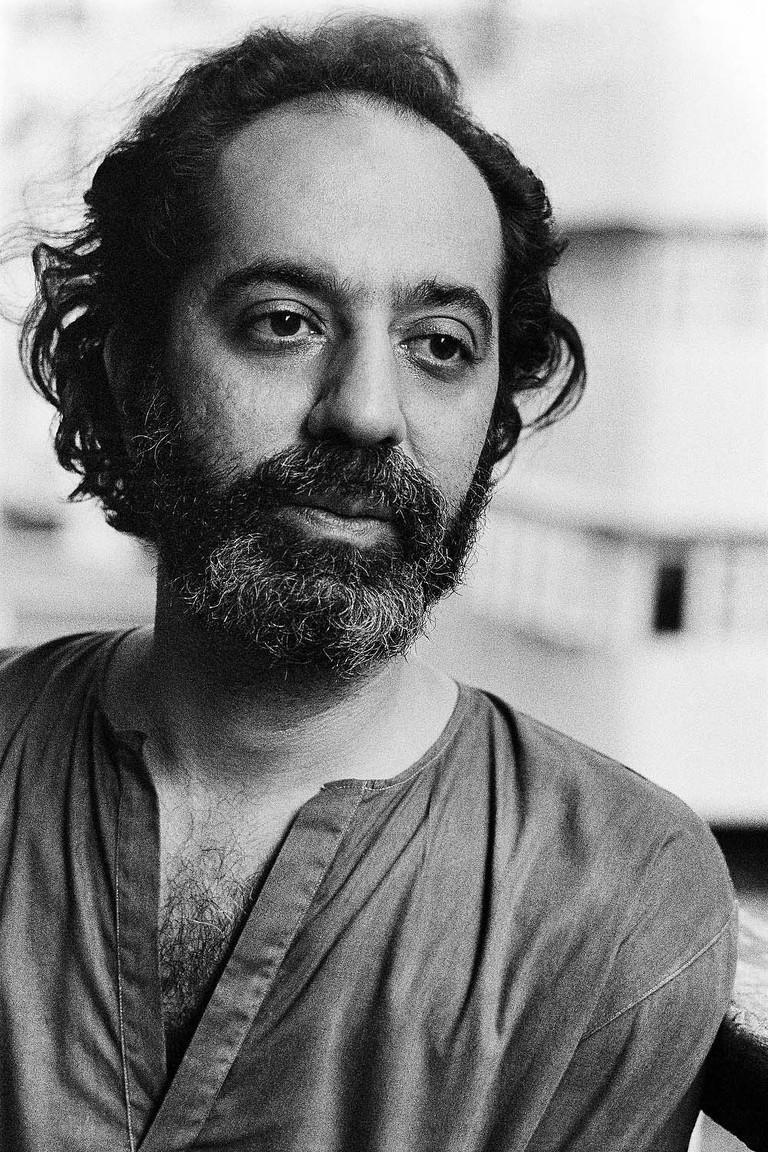 Poet Adil Jussawala, Bombay, 1980. | © Pablo Bartholomew