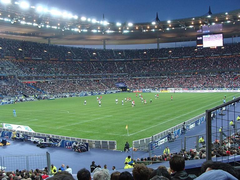 Soccer at Stade de France