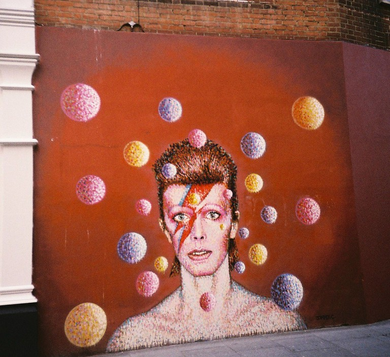David Bowie Mural in Brixton | ©k_tjaaa/Flickr