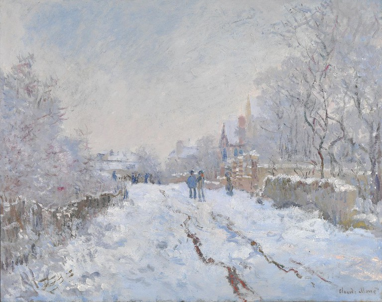 Snow at Argenteuil | Claude Monet/WikimediaCommons
