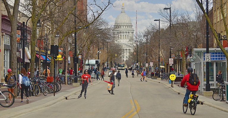 Madison, WI | © Richard Hurd /Flickr