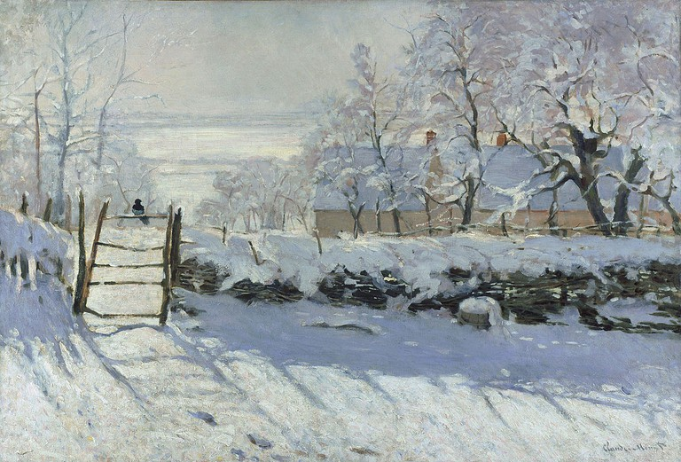 The Magpie | Claude Monet/WikimediaCommons