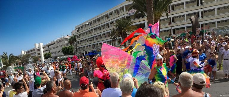 Drag Queen at Maspalomas Gay Pride | © Ybridex AngeloDemon / Flickr