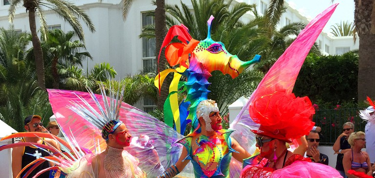 Gay_Pride_Maspalomas_2015_Drag_Queen_Ybridex_Angelodemon_13 |© Ybridex AngeloDemon / Flickr