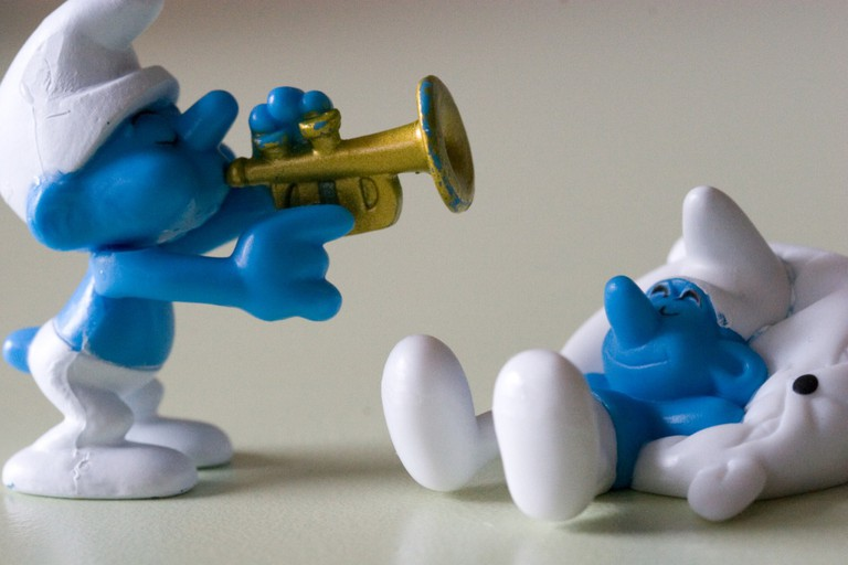 Two little smurfs|© Marc Samsom/Flickr