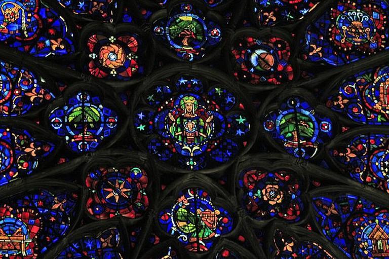Reims' Rose Window