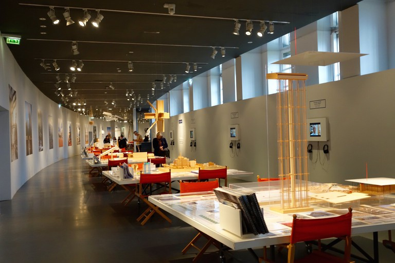 Renzo Piano Exhibit at the Cité de l'Architecture et Patrimoine | © Ami Cadugan