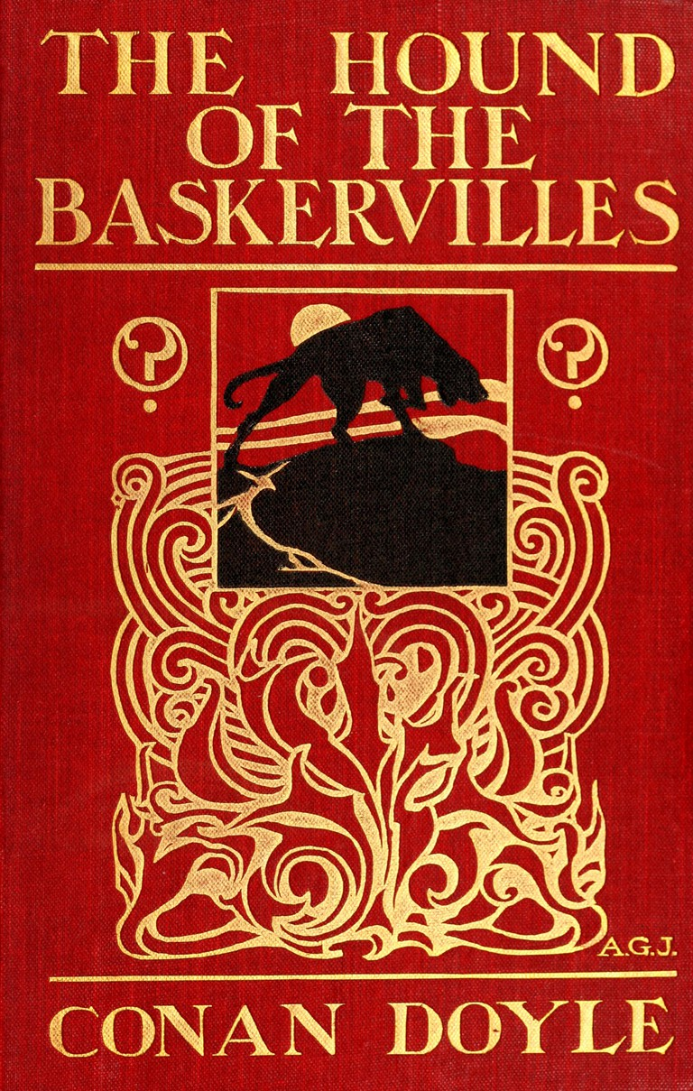 The Hound of the Baskervilles by Arthur Conan Doyle. London: G. Newnes, 1902. First English edition. |© The Special Collections of the Toronto Public Library