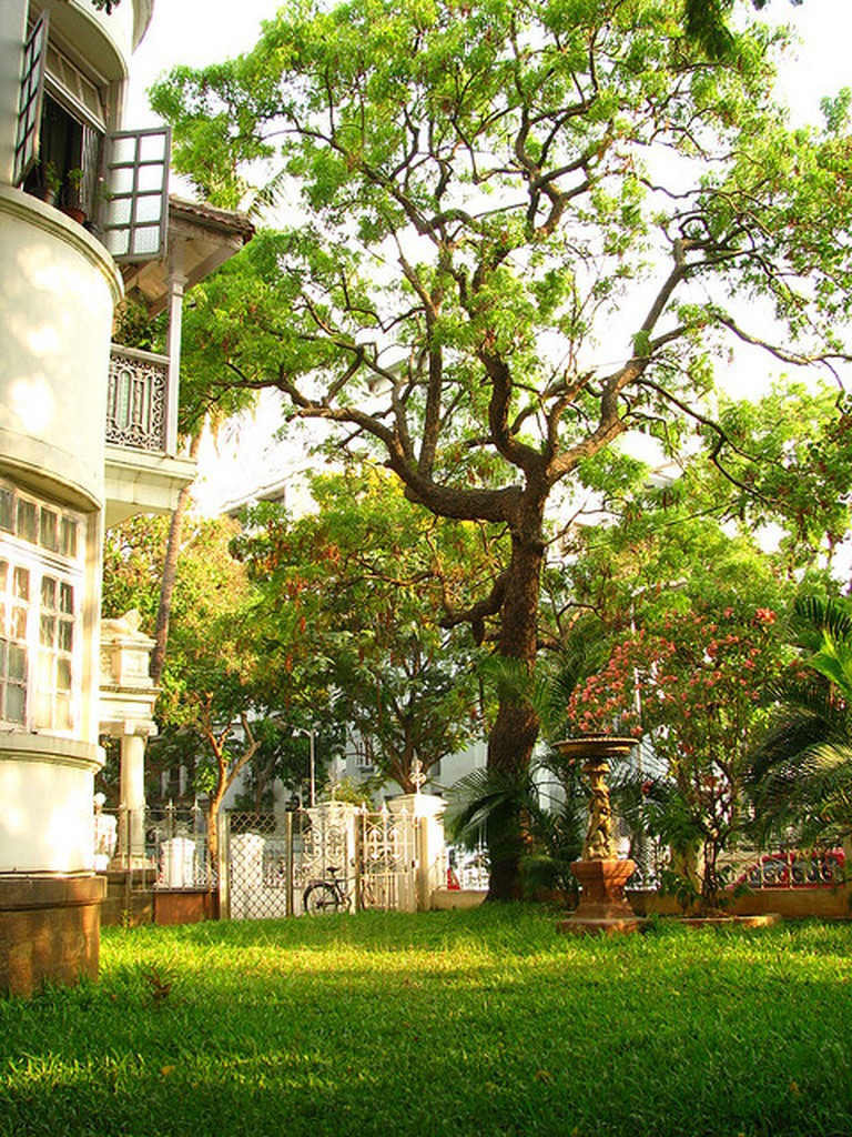 A typical Victorian design apartment at Dadar Parsi Colony