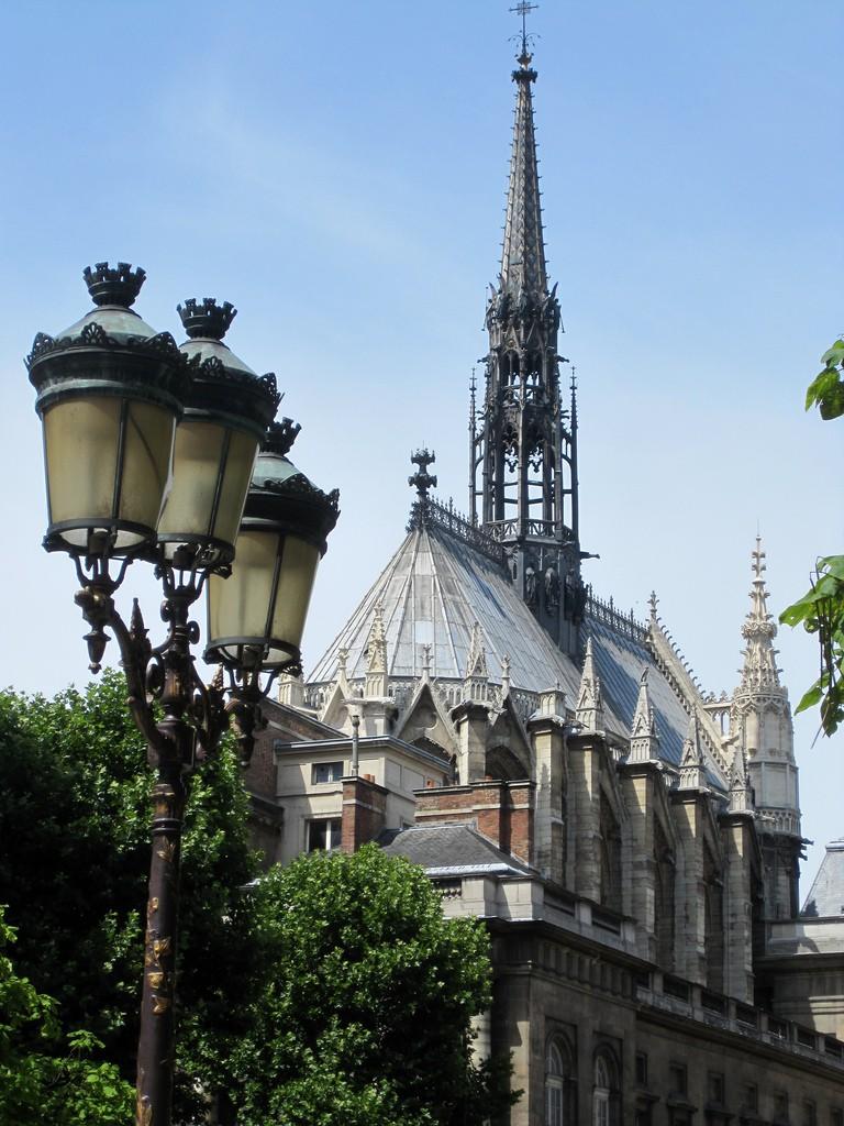 Sainte-Chapelle outside, Paris