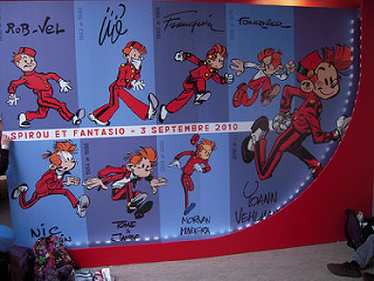 Spirou though the ages|© patrick janicek/Flickr